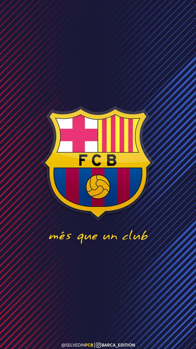 FC Barcelona iPhone HD WALLPAPER 2018 by SelvedinFCB