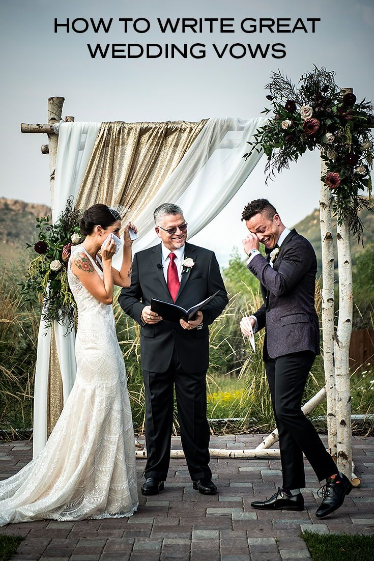 How To Write Great Wedding Vows In 2020 Wedding Vows Best Wedding Vows Wedding Ceremony Readings