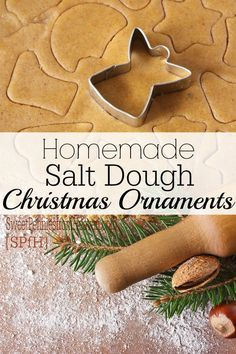 Great for Kids – Homemade Christmas Ornaments with Salt Dough Recipe