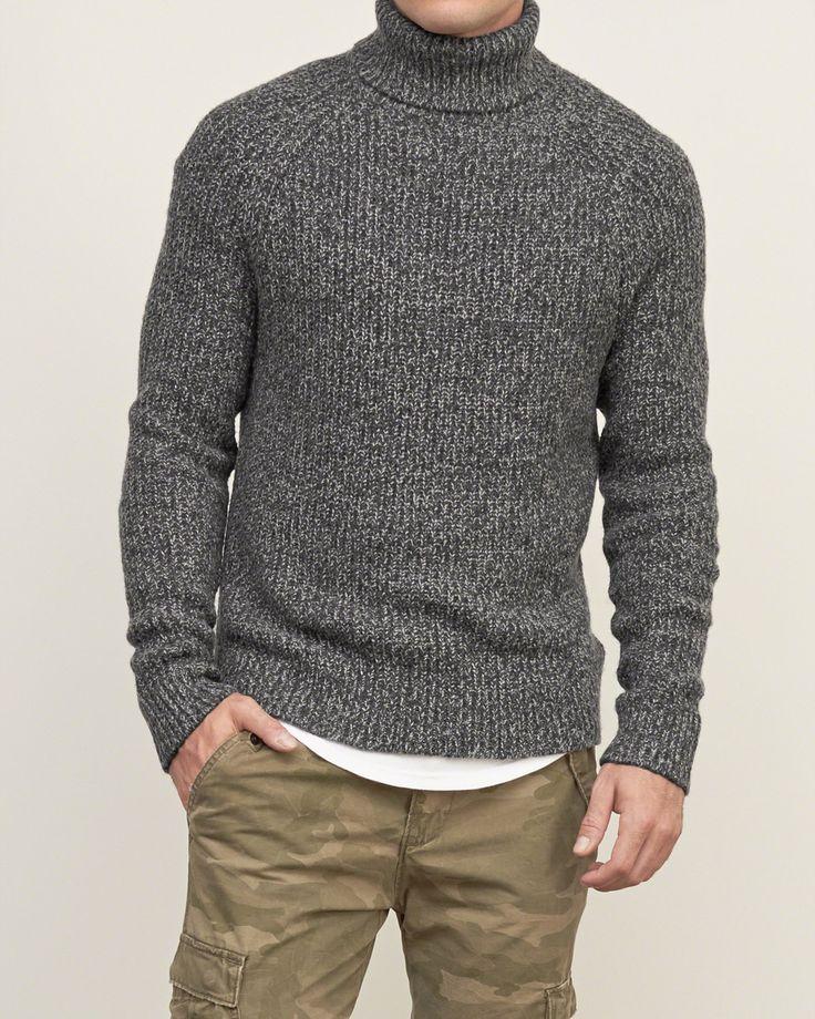 Mens Turtleneck Sweater | Mens Sweaters | Abercrombie.com