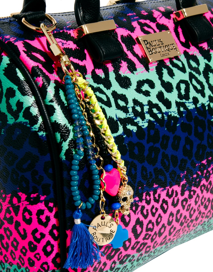 Paul's Boutique Molly Rainbow Leopard Bag