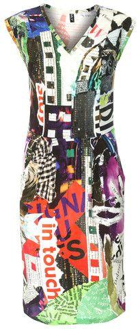 MLY Zijden jurk met zakken SS2015