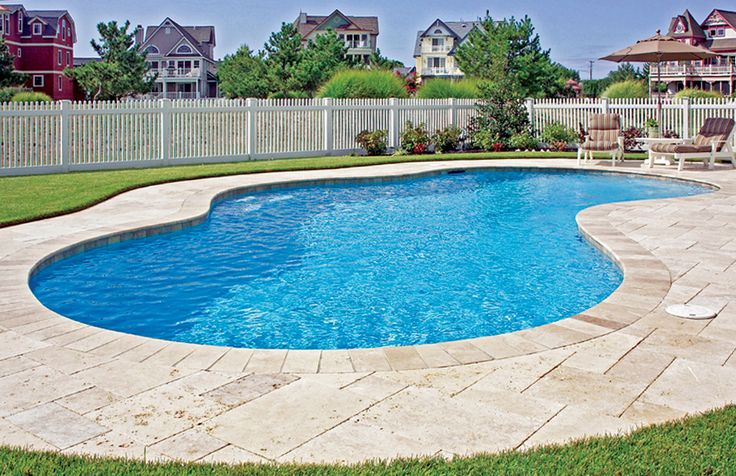 Free Form Pool Built By Blue Haven Pools