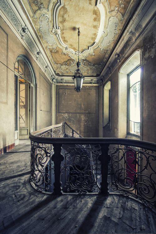 Abandoned Elegance, France photo via thisivey