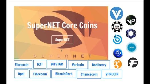 The idea behind SuperNET is simple but powerful: to create a mutually beneficial network of coins that offer real innovation. It will take the form of a basket of key cryptocurrencies and revenue-generating services. SuperNET itself is not a cryptocurrency. SuperNET is an association of the most reliable blockchain technologies Giving you access to all their innovation from one place.
