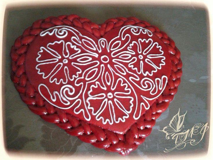 Hungrian folkart heart  by TMJcreative.