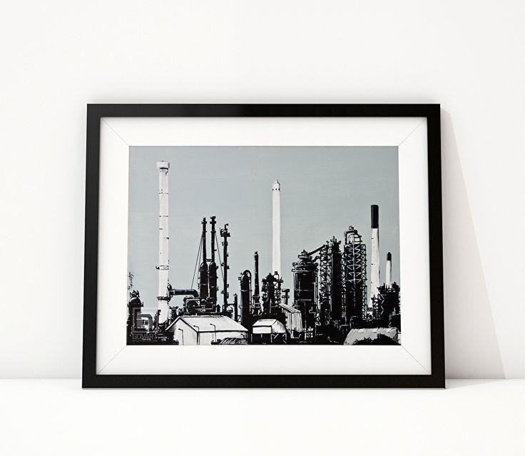 EXXONMOBIL I De A15 door de Botlek geeft prachtige vergezichten op de olieraffinaderijen van onder andere ExxonMobil. Voor een leek zijn de raffinaderij torens een onbegrijpelijke wirwar van buizen en staalconstructies. Laat staan dat men een idee heeft wat er in die futuristische gevaartes gefabriceerd wordt.