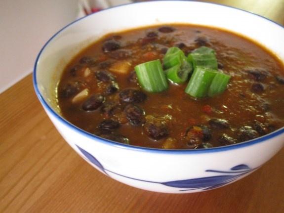 Cuban Sweet Pepper Black Bean Soup | Soups | Pinterest