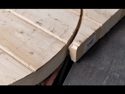 Table saws are used for making straight cuts in wood, but with a bit of patience you can use your saw to cut perfect circles too.