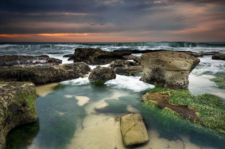 Newcastle South Beach Sunrise NSW Australia