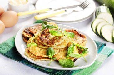 Кабачковые оладьи в духовке  - пошаговое приготовление. Рецепты оладий из кабачков с фото