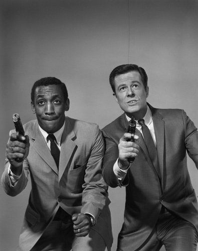 "Bill Cosby & Robert Culp were CIA spies Alexander Scott & Kelly Robinson in ""I Spy"" (1965-1967)"