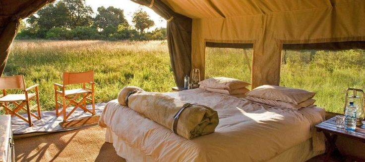 Live out the adventure of a lifetime as close to nature as you can get in the relaxing solitude of the African landscape. Comfortable mobile safari tents with ensuite bathrooms (with flush w.c. and steaming hot bucket shower) at secluded campsites in the game-rich Chobe National Park offer up close and personal encounters with Botswana's wildlife.