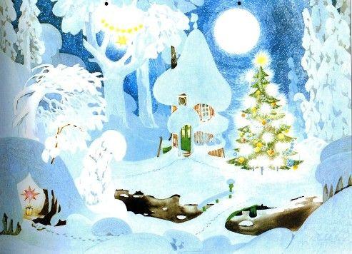 Tove Jansson - Joulukuusi metsässä http://freepathways.files.wordpress.com/2009/12/jansson-joulukuusi-p.jpg