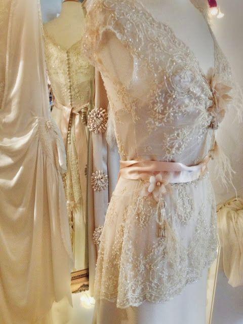 Joanne Fleming Design: 'Lily-Elsie', an art-nouveau wedding dress