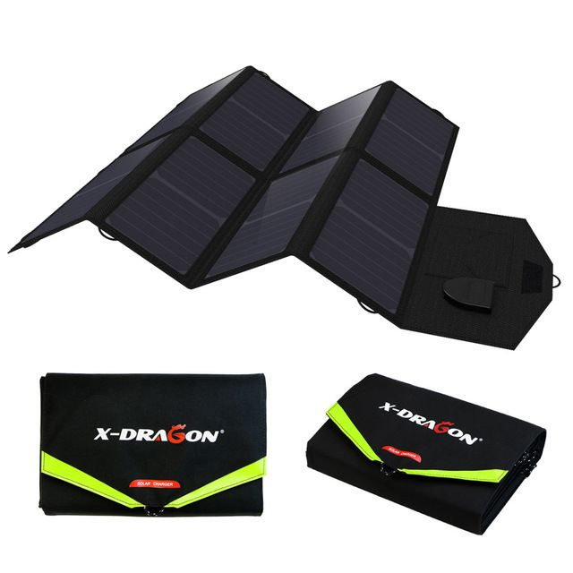 """""""ALLPOWERS Portable Solar Panel 5V 18V Multi Use for  Samsung iPad 12V Car 