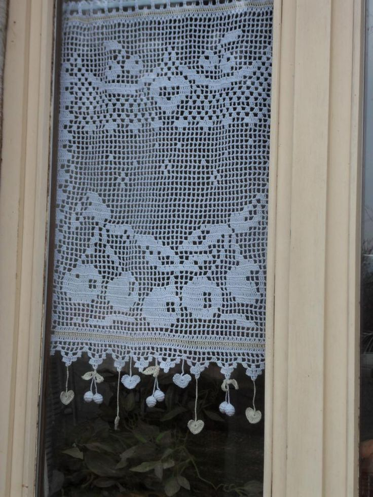 17 best images about crochet curtain perde on pinterest. Black Bedroom Furniture Sets. Home Design Ideas