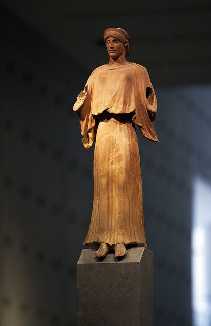 Exhibits from the Acropolis museum in Athens Greece #kitsakis