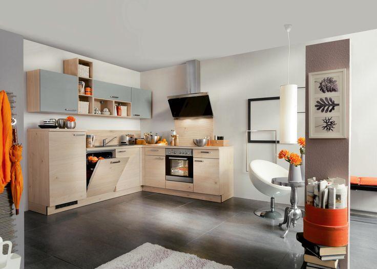 Kochen Sie nach Herzenslust in dieser Eckküche von WELNOVA - küchen ohne elektrogeräte
