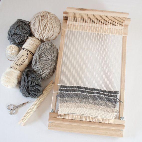 Beginners Rigid Heddle Loom 10 inch RH-10 by OakeandAshe on Etsy