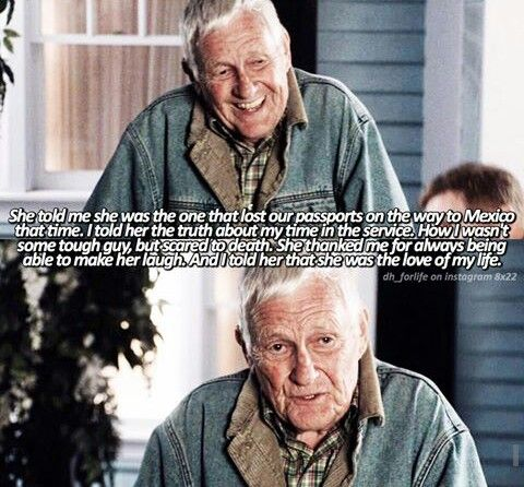 Oh my goodness Roy was such a sweetheart 😭 #DesperateHousewives comment your dh otp down below!