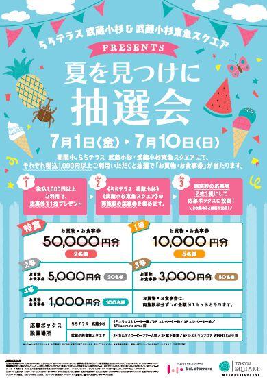 武蔵小杉ららテラス、東急スクエア2016