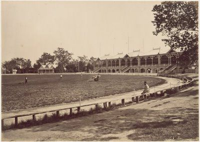 Melbourne Cricket Ground. Melbourne, Australia, 1878.