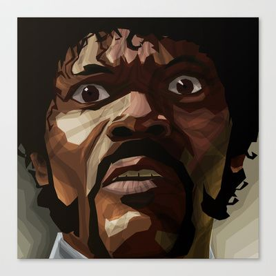 Pulp Fiction - Jules Winnfield Stretched Canvas