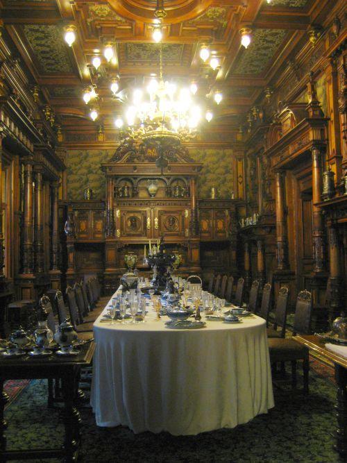 Transylvania Castle Of Dracula Inside | Two Romanian Castles. Dracula's Castle And Peles Castle