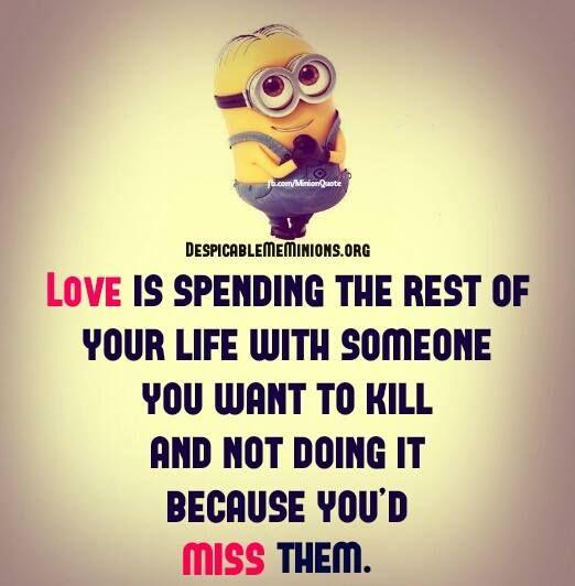 cute minions love quotes - photo #26