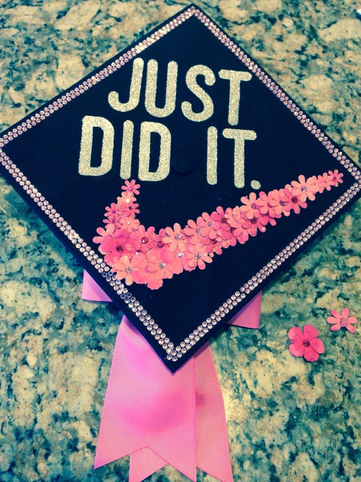 Cute graduation cap idea.