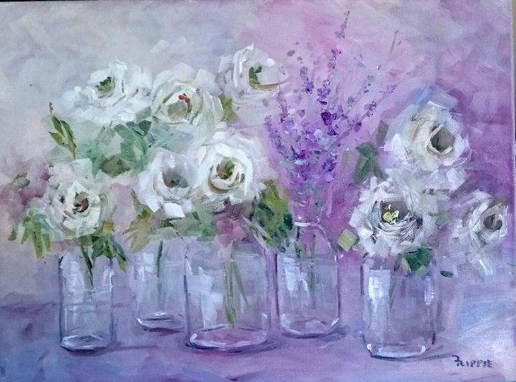 White roses - Flippie Botha