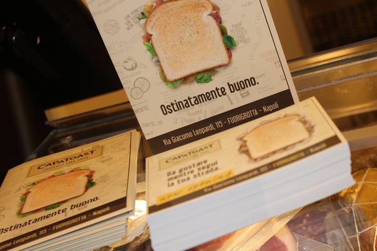 New Opening CAPATOAST FUORIGROTTA #capatoast #fuorigrotta #toast #toasteria #newopening #streetfood #takeaway