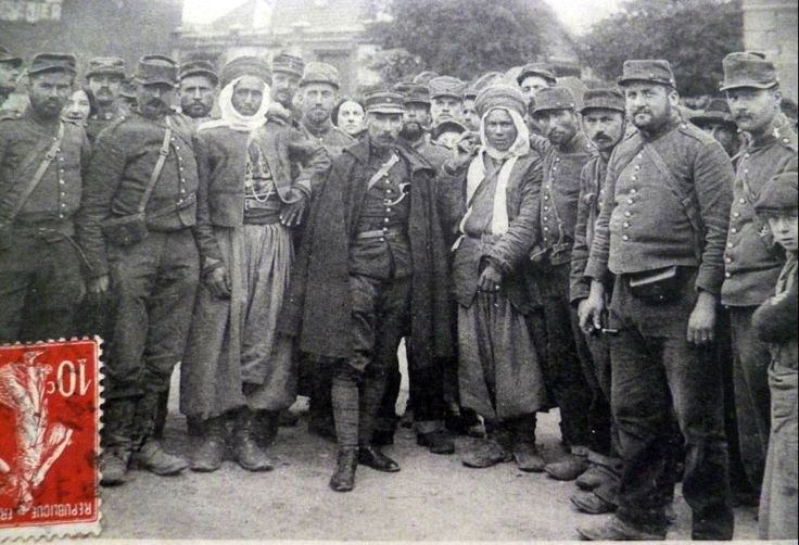 WW1, 1916. 100 hundred years ago, all together, somewhere in France.