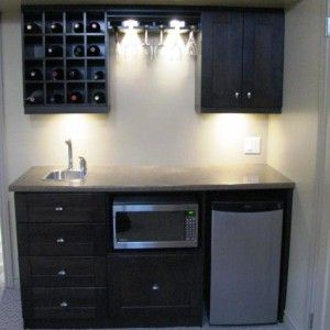 Decor U0026 Tips: Small Basement Bar Ideas With Wet Bar Cabinet And ..
