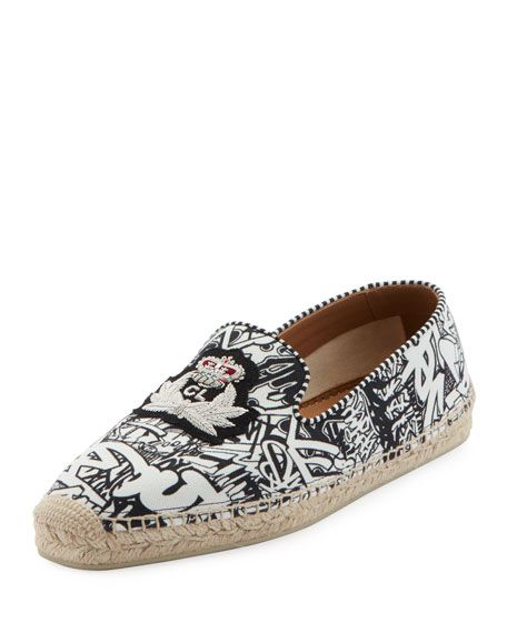 ab59bbefa CHRISTIAN LOUBOUTIN MEN'S NANOU CANVAS SLIP-ON ESPADRILLES. # christianlouboutin #shoes
