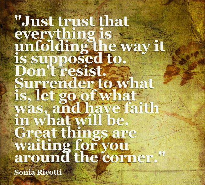 Have faith in what will be #inspiration