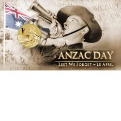 2012 ANZAC Day Stamp and Coin Cover