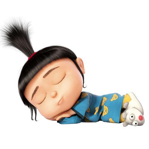 Schlafende Agnes