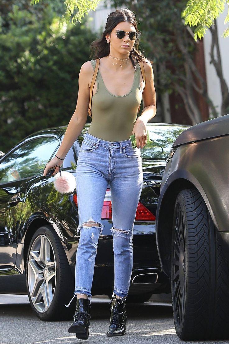 Kendall Jenner revelha melhor blusa para usar sem sutiã