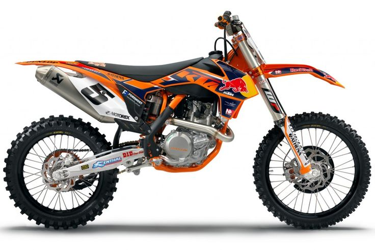 The 2013 KTM 450 SX-F Factory Edition bike.