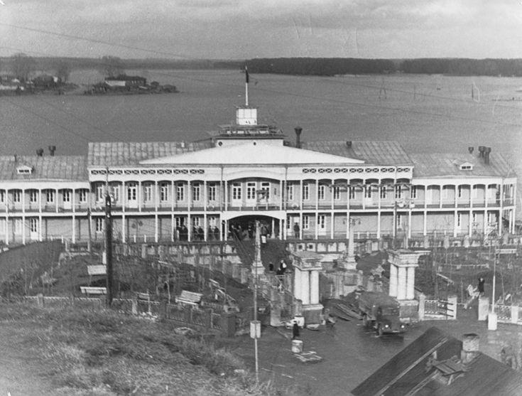 Вятка. Речной вокзал в 1960-е гг.