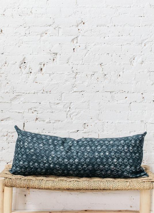 Lillian Large Green Lumbar Pillow Cover In 2020 Lumbar Pillow Cover Green Pillow Covers Green Pillows Decorative