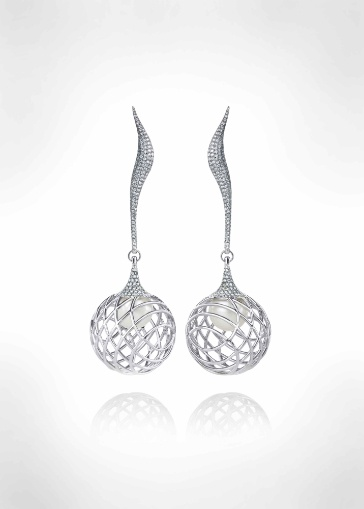 The Palladium Fine Jewellery Collection by Lara Bohinc, Earrings