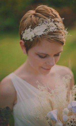 short wedding hairstyle 23