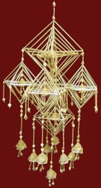 Himmeli, traditional Finnish Christmas decoration (Tatiana Repina)