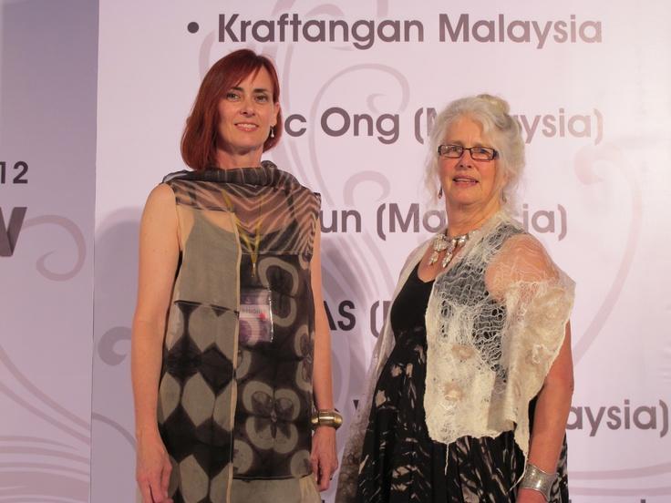 Gondwana Textiles Collective Australian designers Susan Fell Mclean and Sylvia Riley