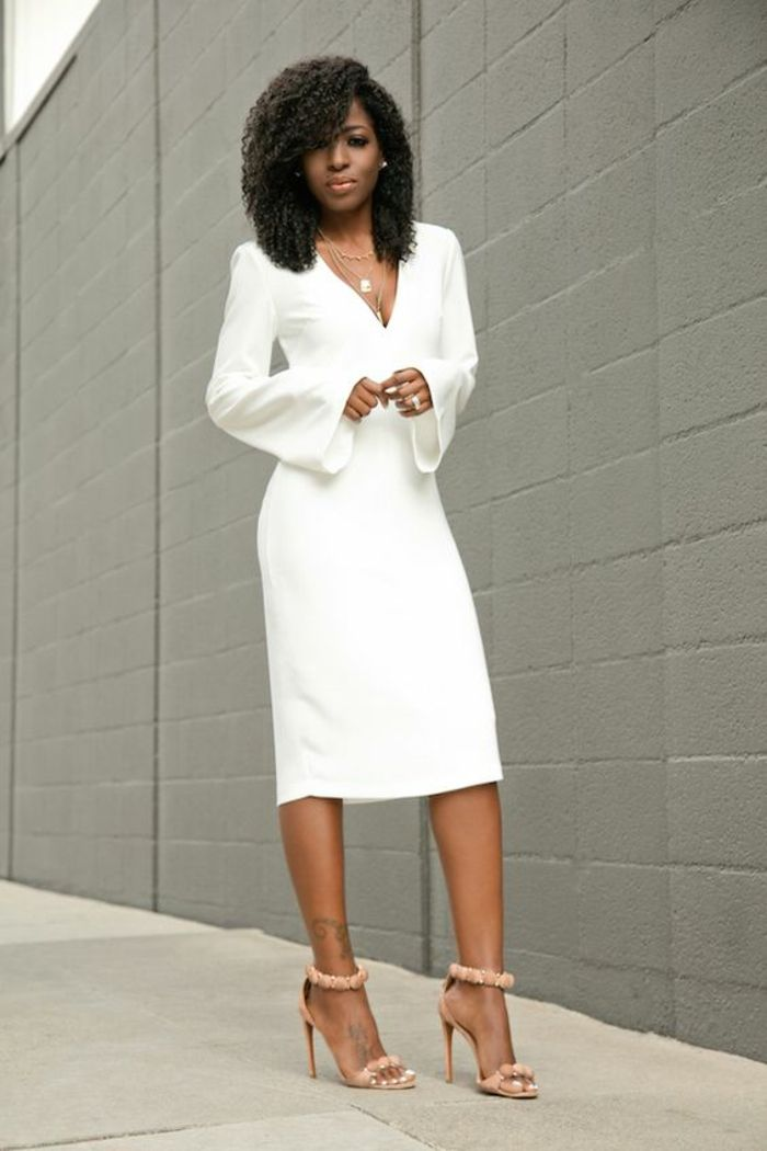 Long bodycon dress for all occasions. Our advices If you're