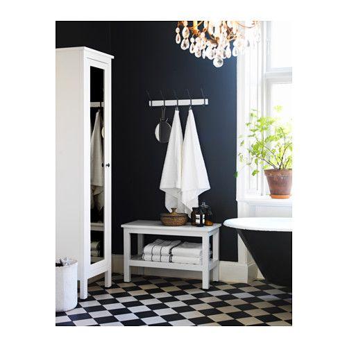 HEMNES Banco - blanco - IKEA