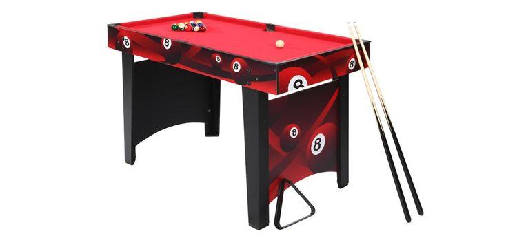 Et qui a dit que le billard était pour les adultes ?!   http://www.rendezvousdeco.com/mobilier-design-pour-enfant/table-de-billard-enfant-rouge.html